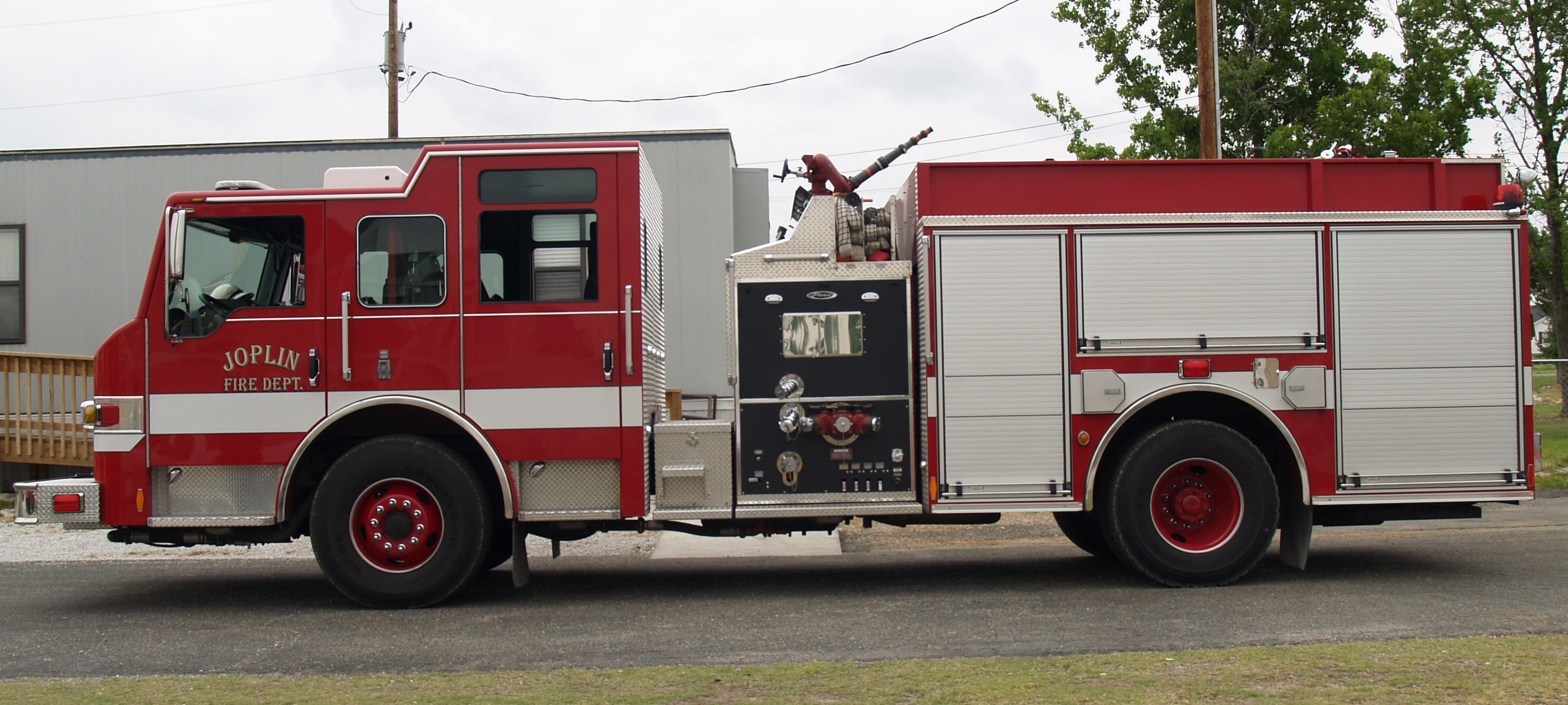 Joplin Fire - Engine 2