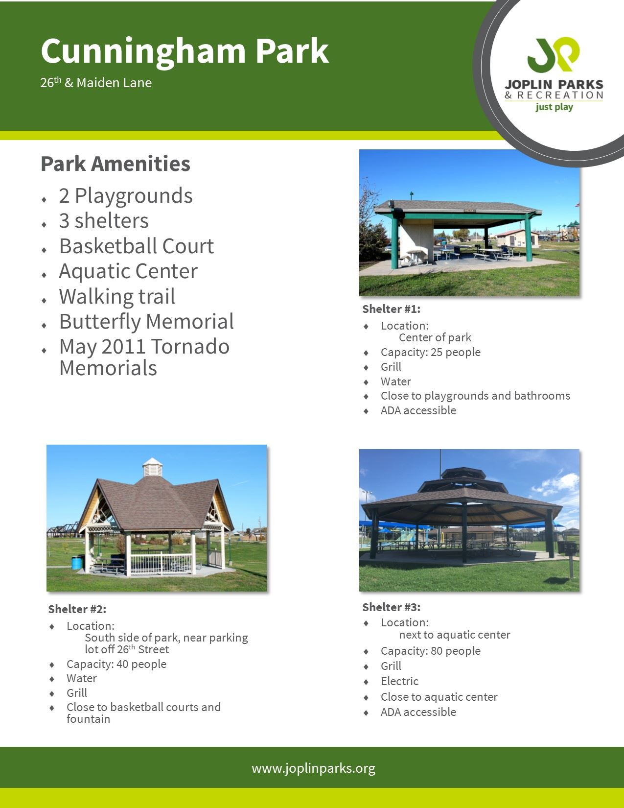 Cunningham Park Fact Sheet
