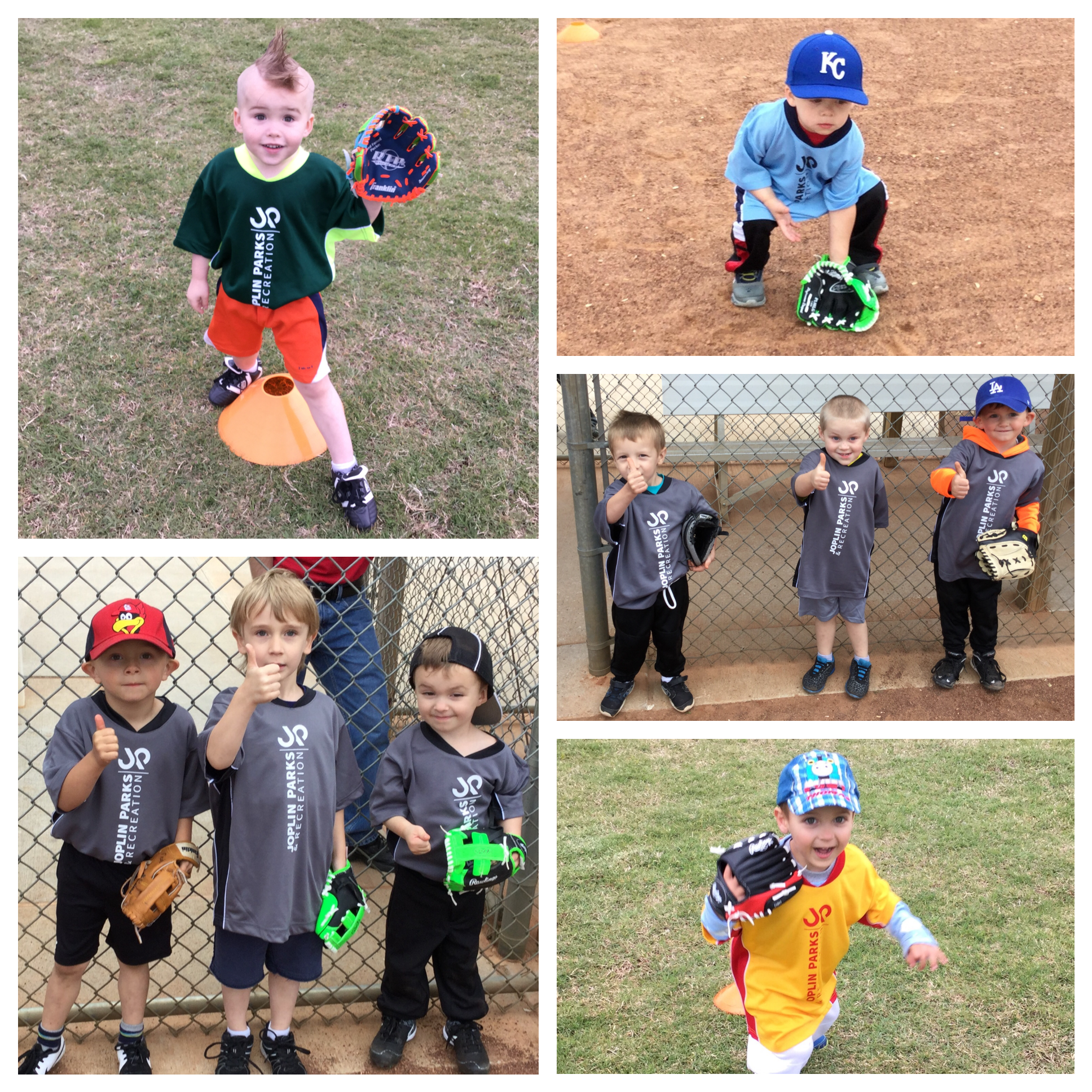 T-Ball Collage 1