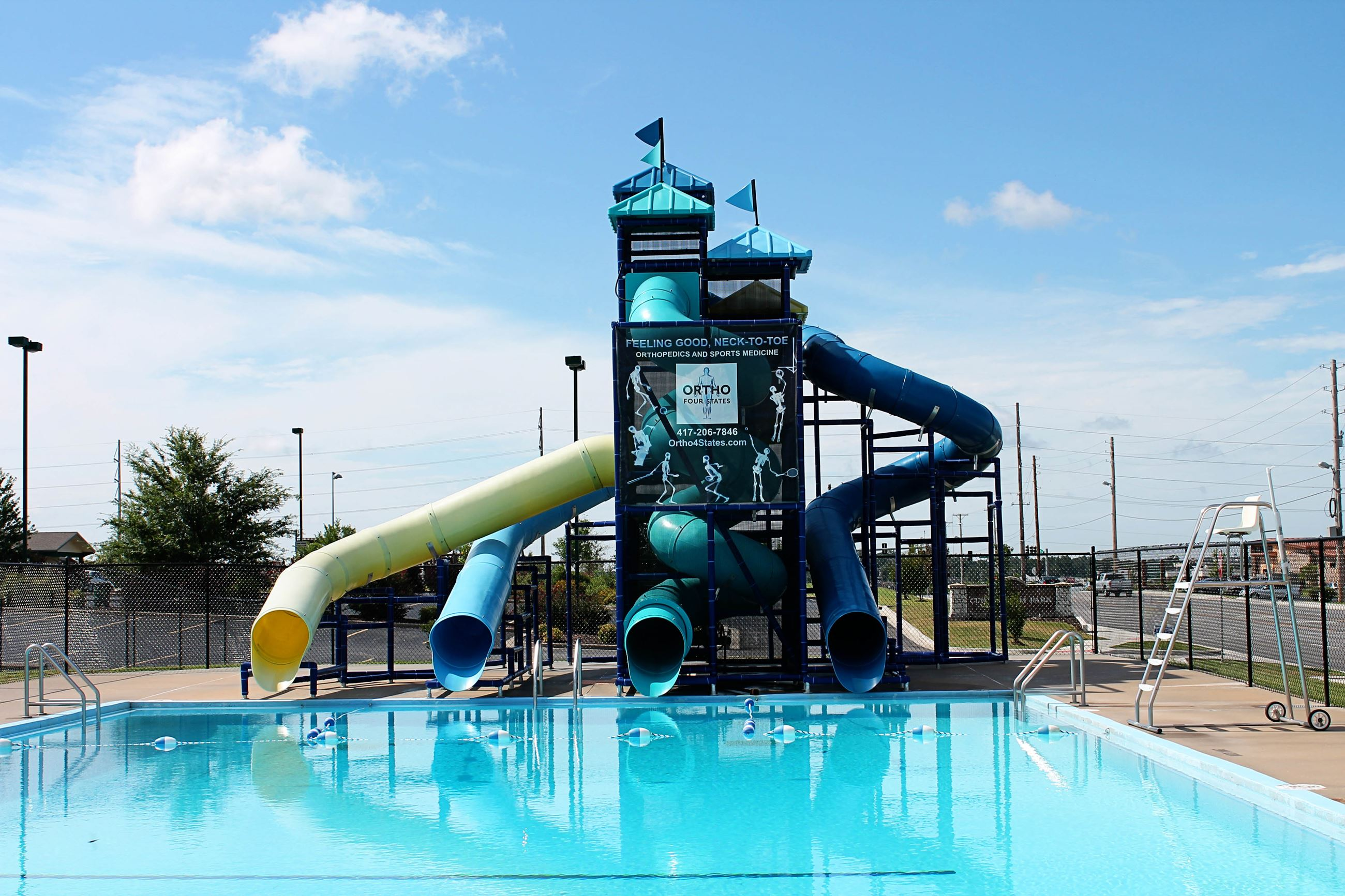 Cunningham Pool Slides 1