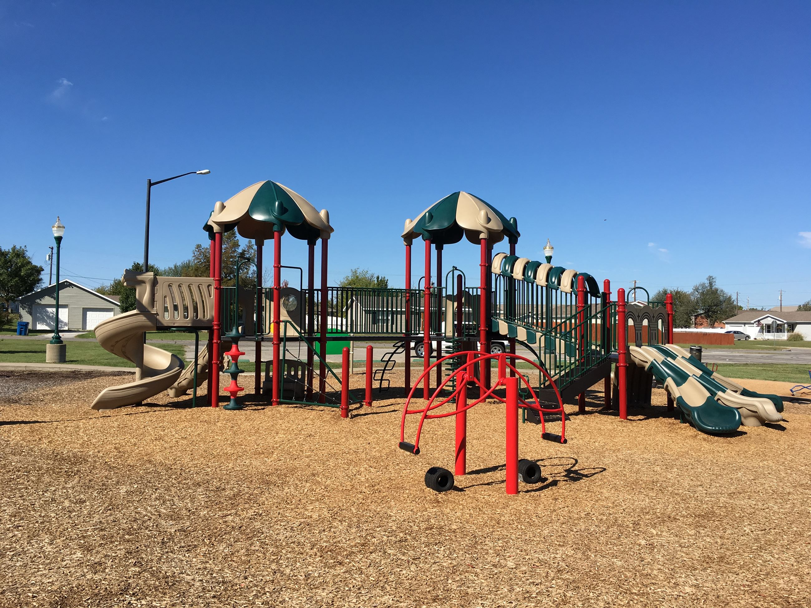 Parr Hill Park Playground Near Shelter #1