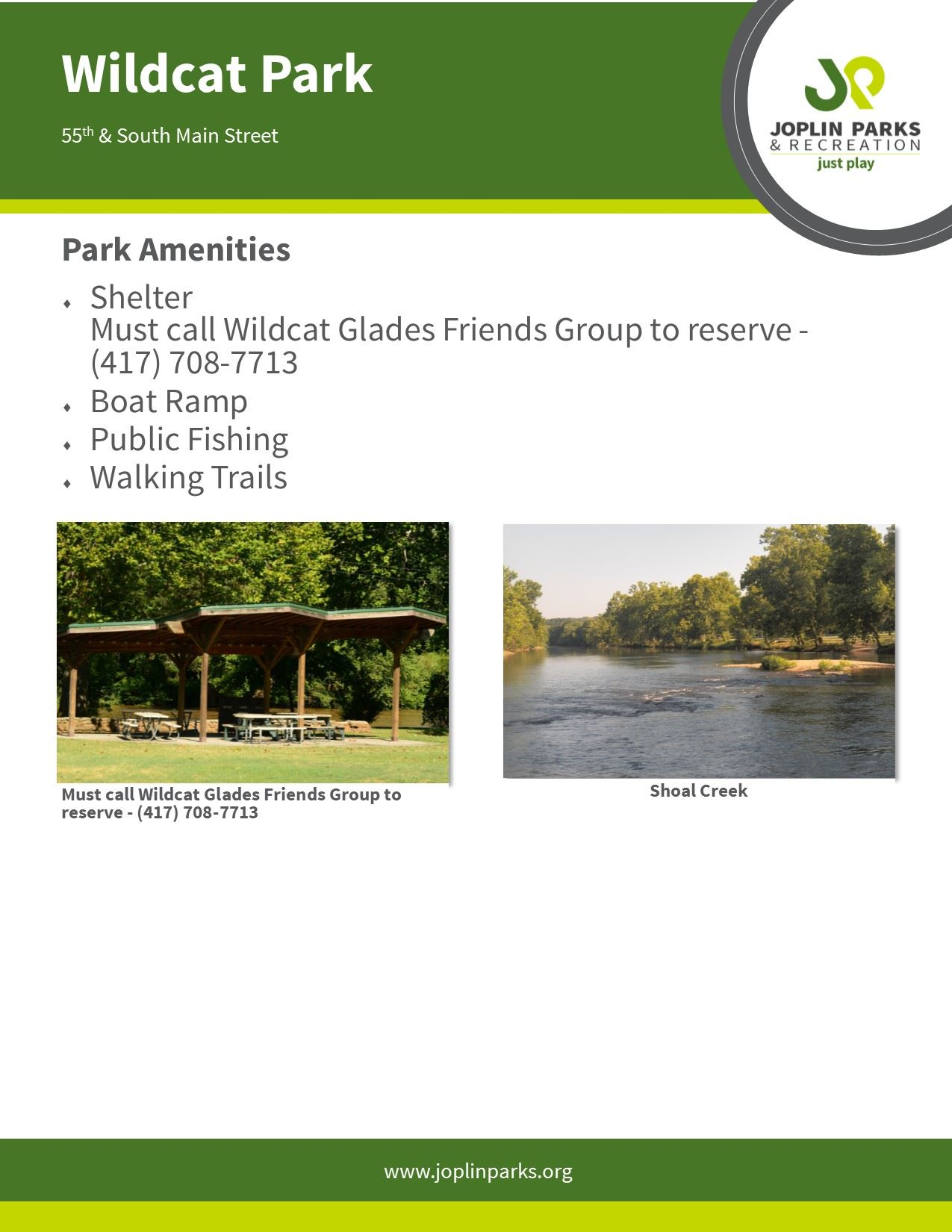 Wildcat Park Fact Sheet