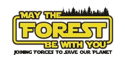 2019 May The Forest Be With You logo