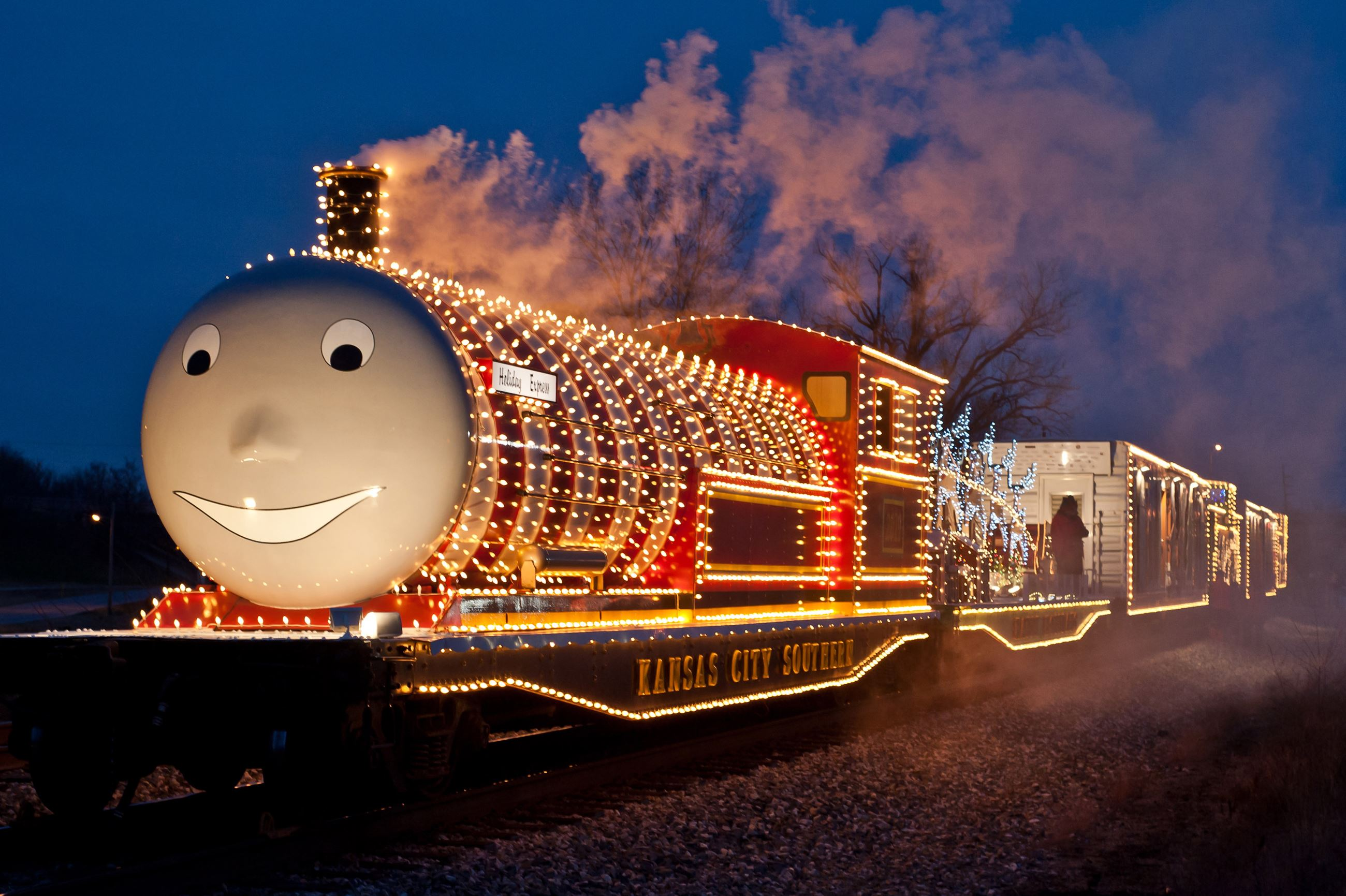 Kansas City Southern's Holiday Express Train