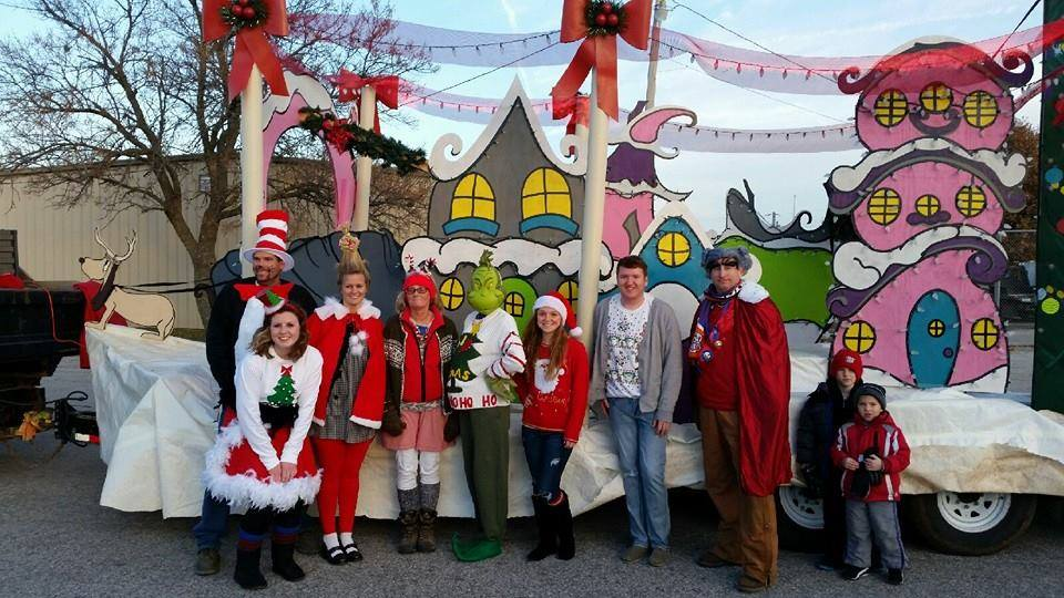 christmas parade float 2014jpg - When Is The Christmas Parade
