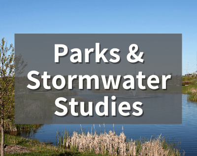 Image that says Parks and  Stormwater Studies
